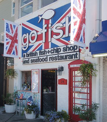 Go fish british fish and chips shop visit delaware for Go fish store