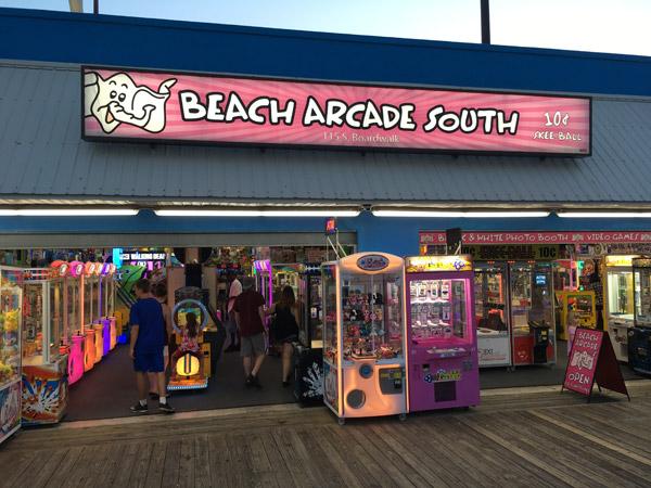 Beach Arcade Rehoboth