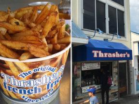 Thrasher's French Fries Rehoboth Beach, DE