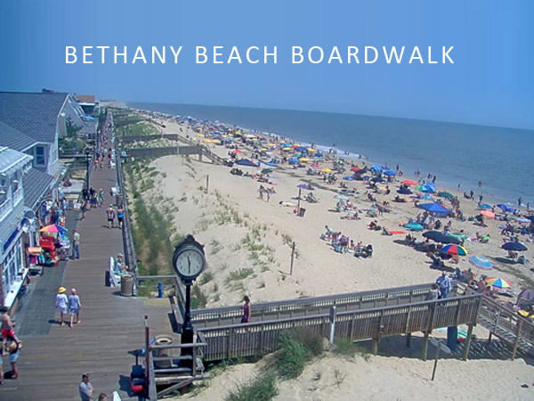 Bethany Beach Boardwalk Visit Delaware Beaches Rehoboth