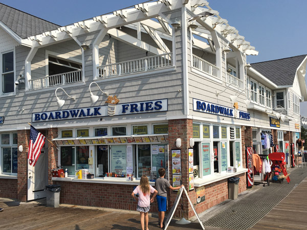 Boardwalk Fries Bethany Beach DE