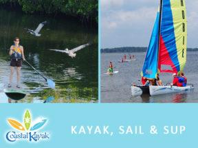 Coastal Kayak Fenwick Island SUP Kayak Sailing