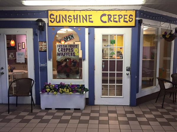 Sunshine Crepes Bethany Beach