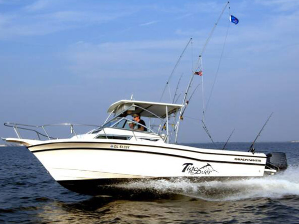 Tide me over fishing charters visit delaware beaches for Rehoboth beach fishing