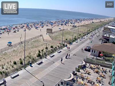 Rehoboth Beach Boardwalk Webcam Visit Delaware Beaches Bethany Fenwick