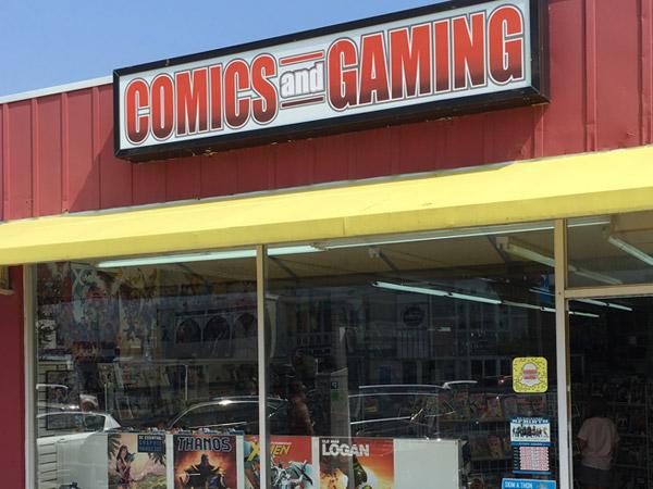 Comics and Gaming Bethany Beach