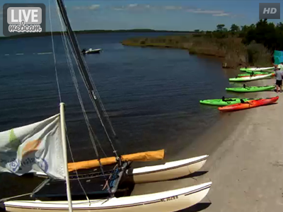 Coastal Kayak Webcam Fenwick Island, DE