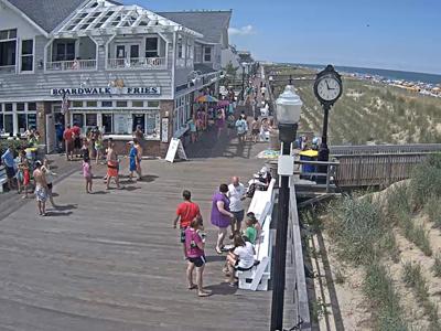 Bethany Beach De Boardwalk Webcam