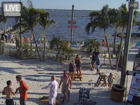Paradise Grill Beach Webcam