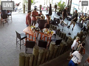 Paradise Grill Lagoon Webcam
