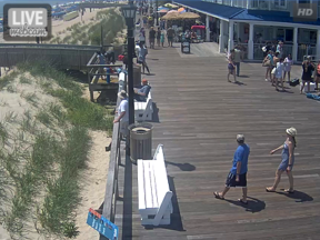 Bethany Beach Boardwalk Webcam South View