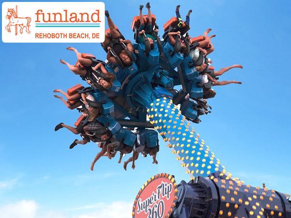 Funland Superflip 360 Rehoboth Beach