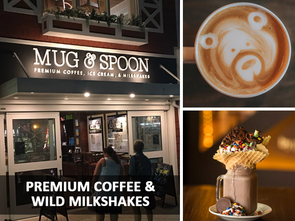 Mug and Spoon Coffee Milkshakes Rehoboth Beach