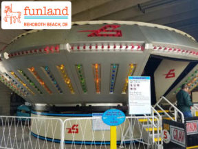 Gravitron Funland Rehoboth Beach