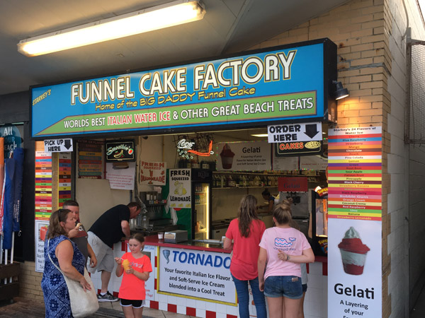 Funnel Cake Factory Rehoboth Beach