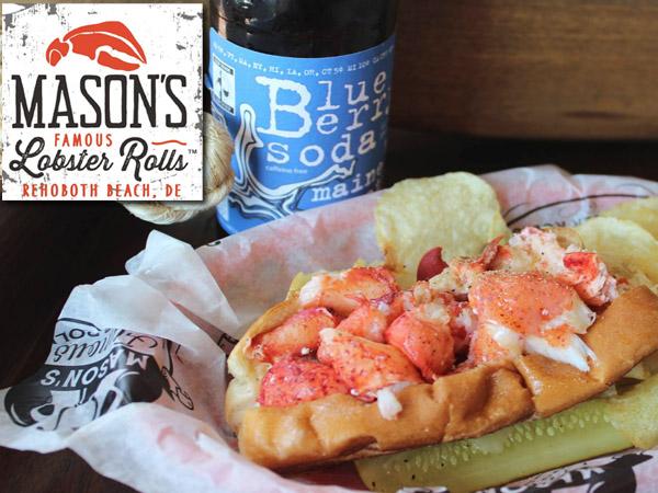 Mason's Famous Lobster Rolls Rehoboth Beach, DE