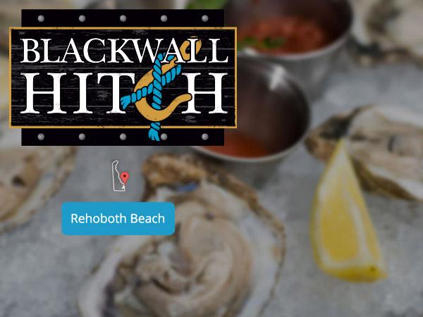 Blackwall Hitch Seafood Rehoboth Beach DE