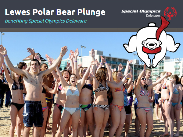 Lewes Polar Bear Plunge Benefiting Special Olympics Delaware