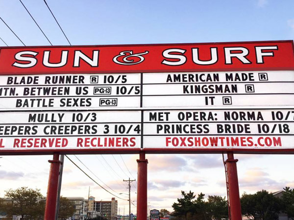Sun Surf Cinema Ocean City MD