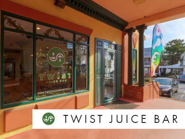 Twist Juice Bar Rehoboth Beach DE