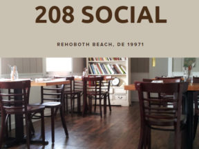 208 Social Restaurant Rehoboth Beach DE