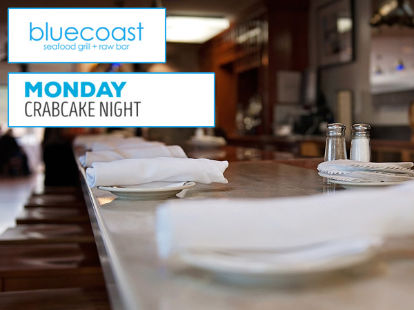Crabcake Night at Bluecoast Seafood Grille
