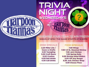 Trivia Night at Harpoon Hannas
