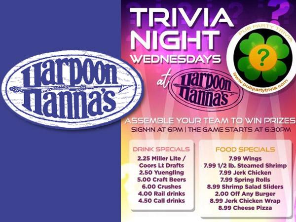 Trivia Night at Harpoon Hannas