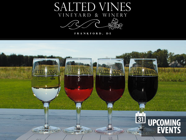 Salted Vines Vineyard & Winery - Friday Night Flights